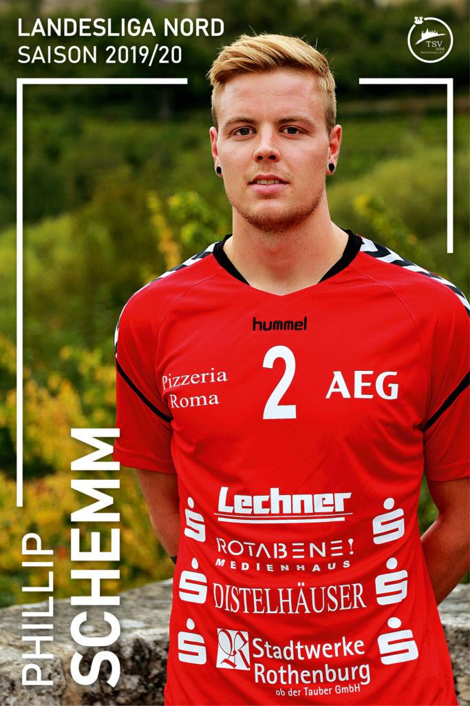#2 Phillip Schemm