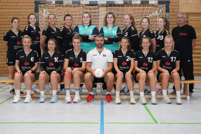 Damenmannschaft des TSV 2000 Rothenburg Handball
