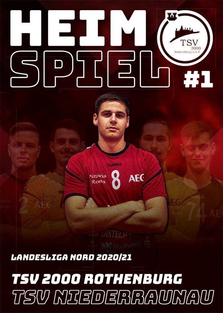 Hallenheft Nr. 01/2020 -TSV Niederraunau
