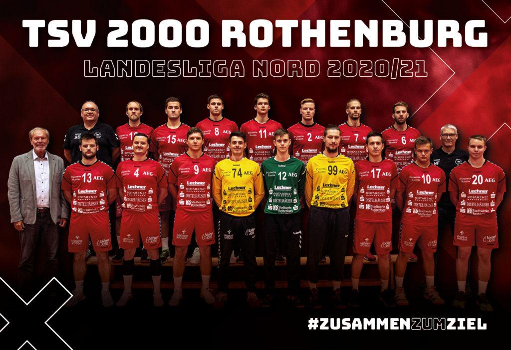 Mannschaftsfoto Landesliga Herren 2020/21