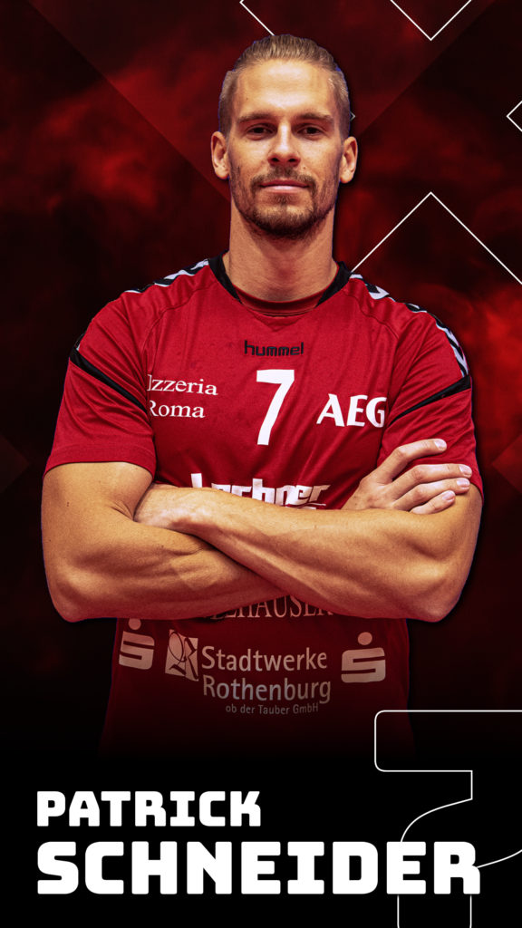 Patrick Schneider #7 TSV 2000 Rothenburg Handball