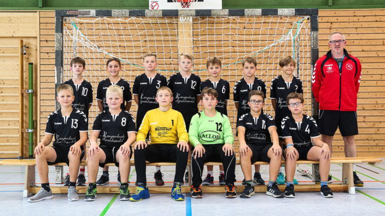 D-Jugend männlich TSV 2000 Rothenburg Handball 21-22