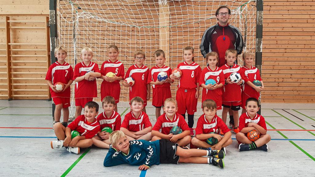 Minis TSV 2000 Rothenburg Handball 21/22