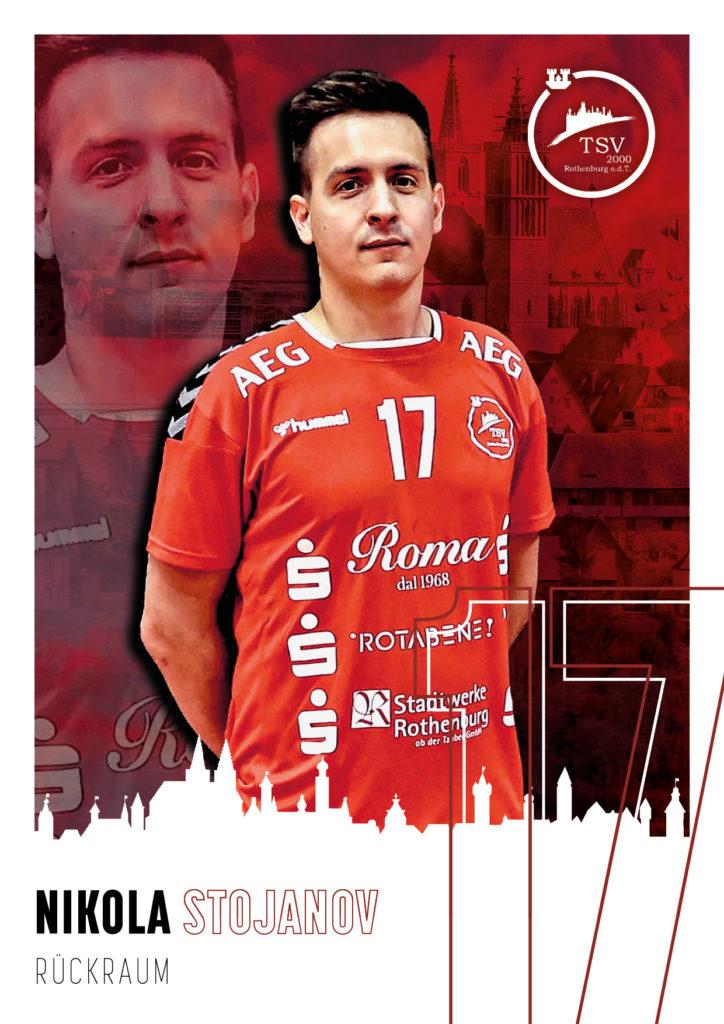 Nikola Stojanov #17