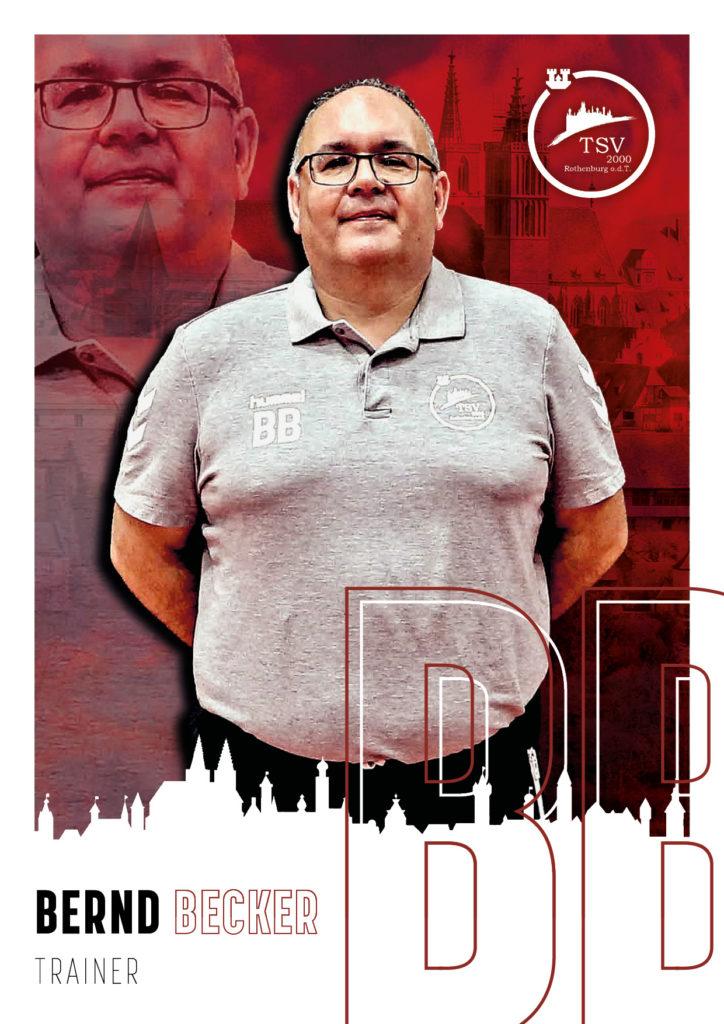 Trainer Bernd Becker