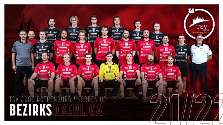2. Herrenmannschaft TSV 2000 Rothenburg Handball - Saison 2021/22
