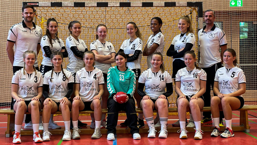 B-Jugend weiblich TSV 2000 Rothenburg Handball 21-22