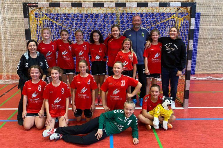 Weibliche D-Jugend TSV 2000 Rothenburg Handball - Saison 2021/22